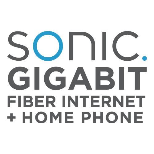 Sonic. Gigabit Fiber Internet + Home Phone