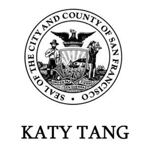 Seal of the City and County of San Francisco - Katy Tang