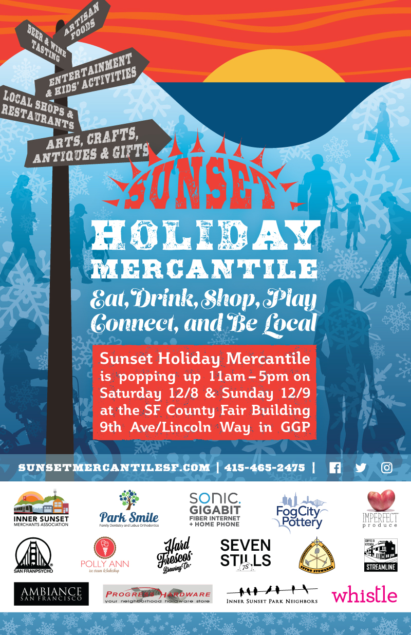 Sunset Holiday Mercantile poster