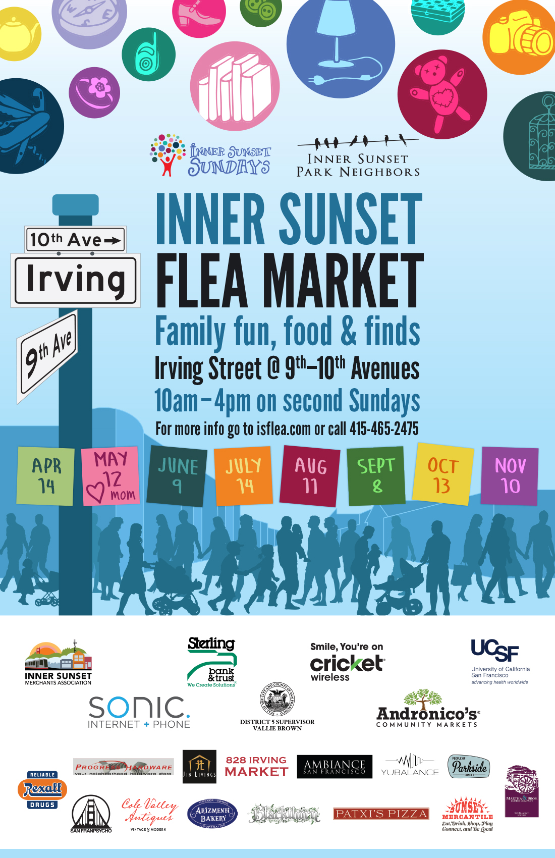 Inner Sunset Flea poster