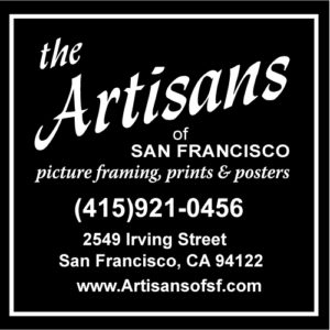 the Artisans of San Francisco | picture framing, prints & posters | 415-921-0456 | 2549 Irving Street San Francisco, CA 94122