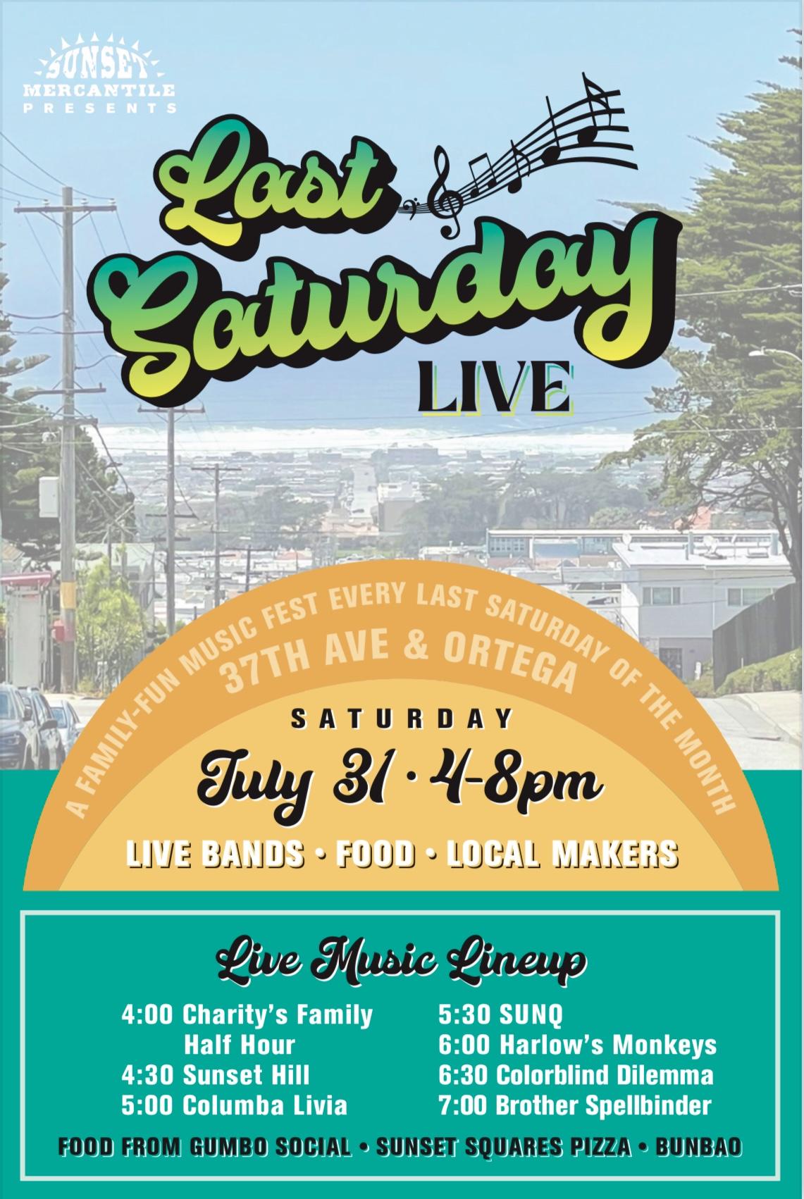 Sunset Community Mercantile: Last Saturday Live