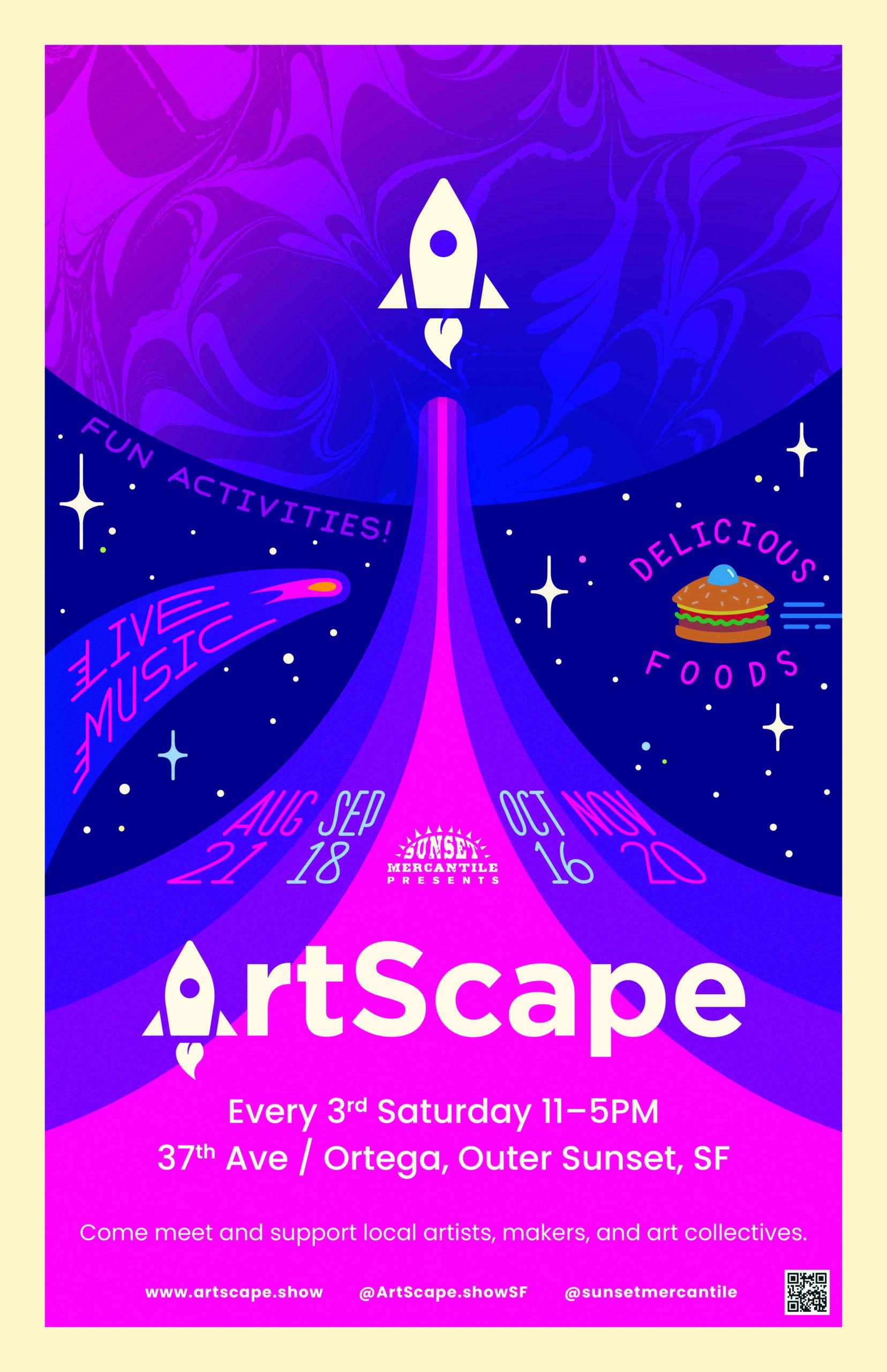 Sunset Community Mercantile: Artscape